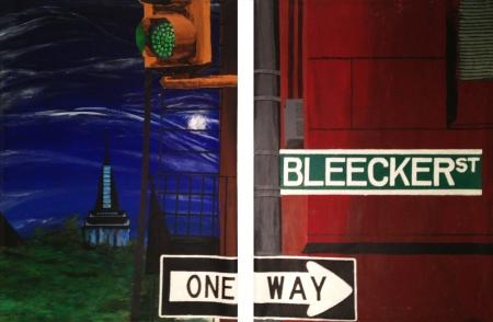 Bleecker St Moonlight