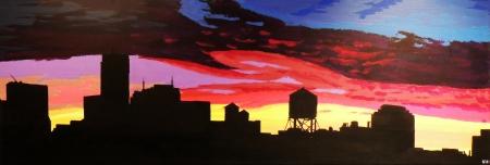 Freedom Tower Sunset
