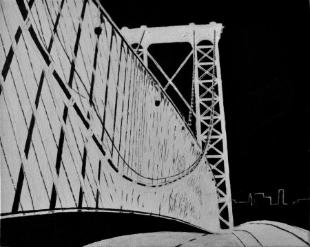 williamsburg-bridge-bw